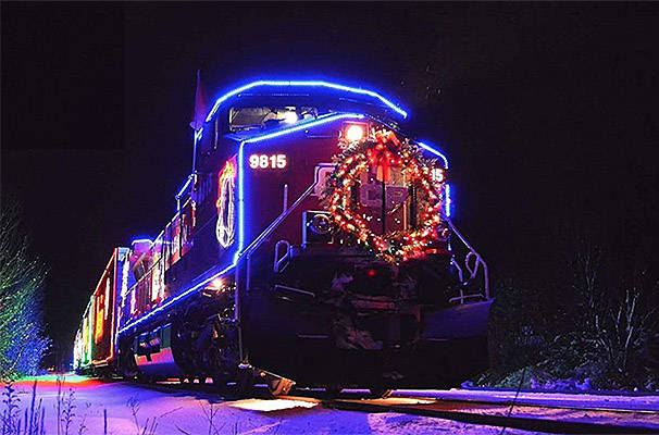 CP Holiday Train lights up Maple Ridge and Pitt Meadows